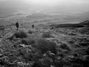 Coming off Whernside
