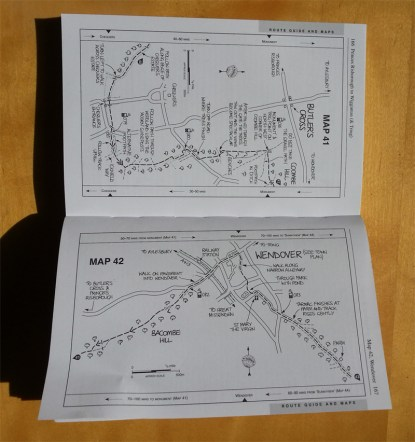 Ridgeway Book maps Nick Hill