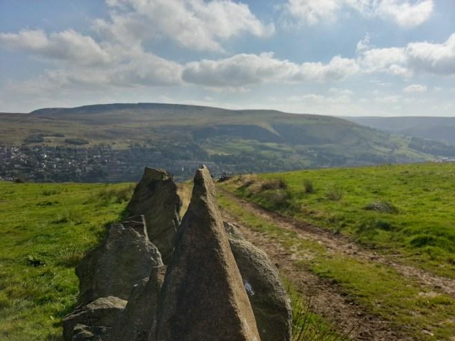 Above Marsden - Huck Hill Lane - Kirklees Way