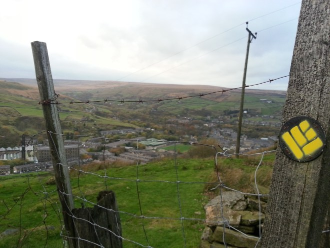 new Colne Valley Circular Walk signs