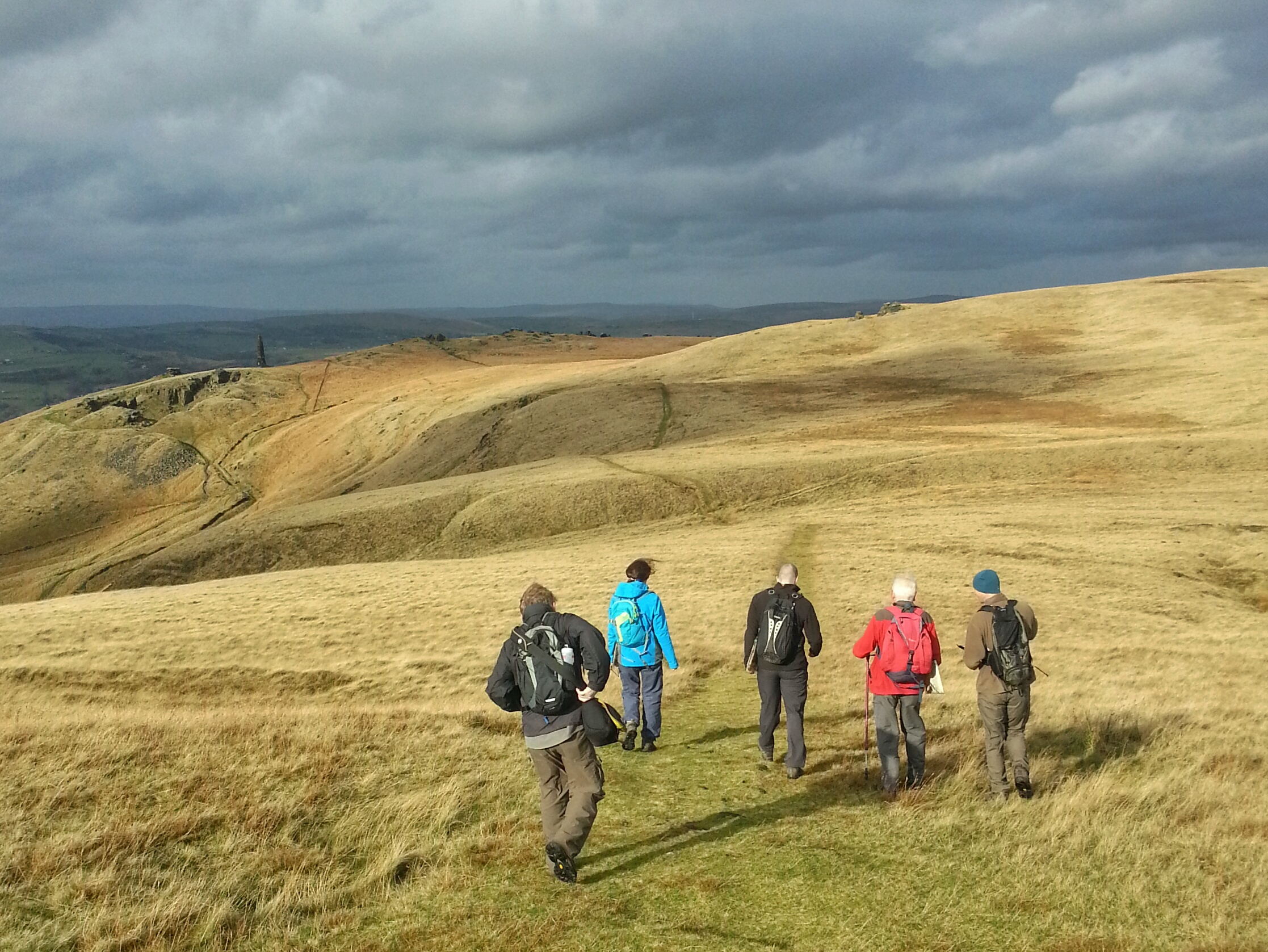 Marsden Moor National Trust Hike