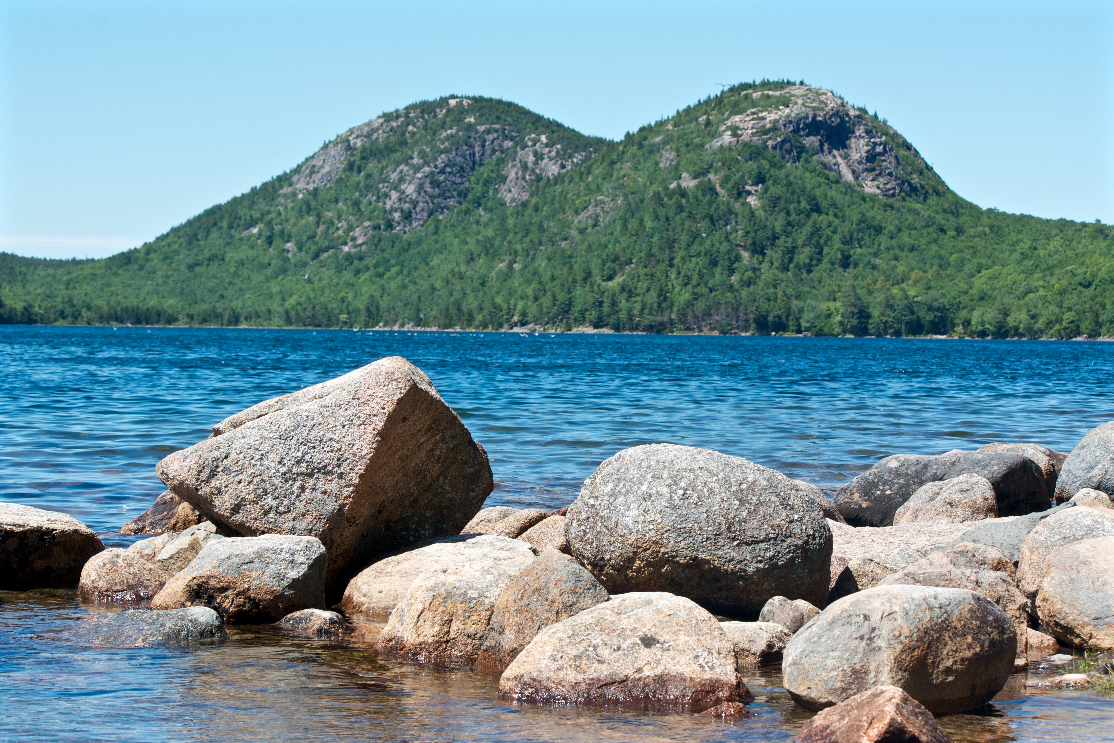 Bubble Mountains Acadia National Park