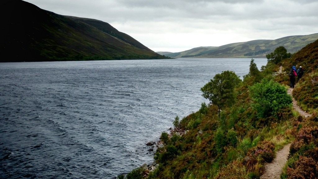 Loch Muick track on Balmoral Estate