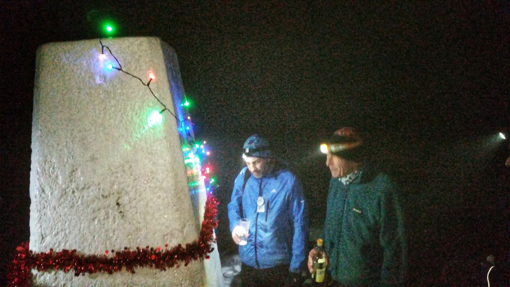 Black Hill Peak District Christmas gathering