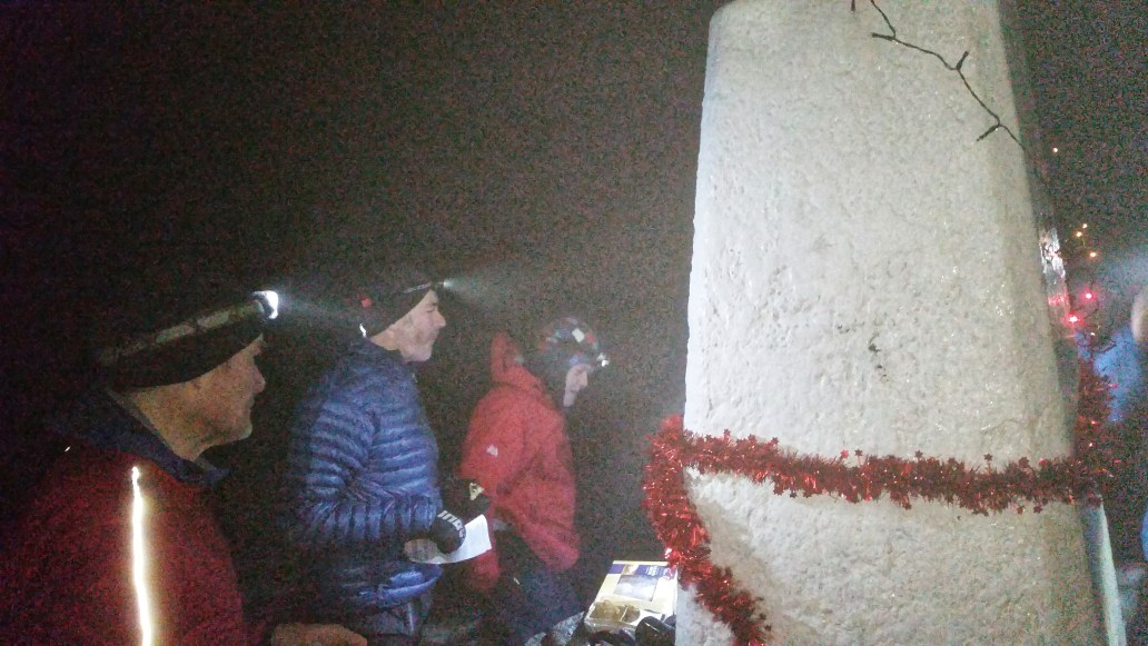 Black Hill Peak District Christmas gathering