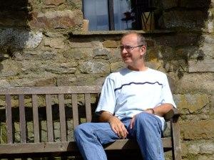 Steve Hobson Poet onn Marsden Poetry Trail