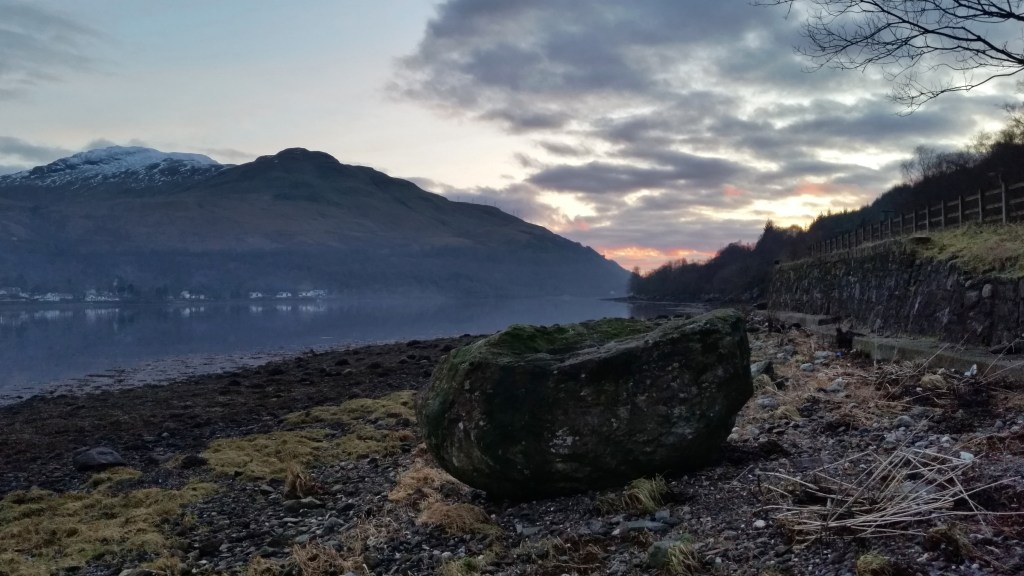 Enroute to Glen Coe. A walk from Loch Long, Arrochar up Glen Loin