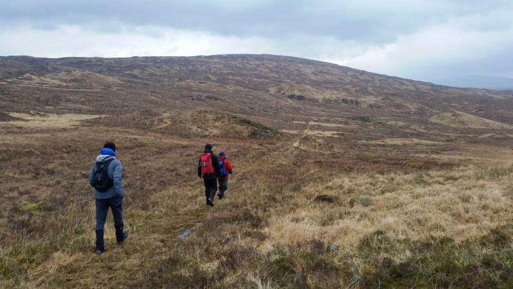 West Highland Way Rannoch Moor walking trip