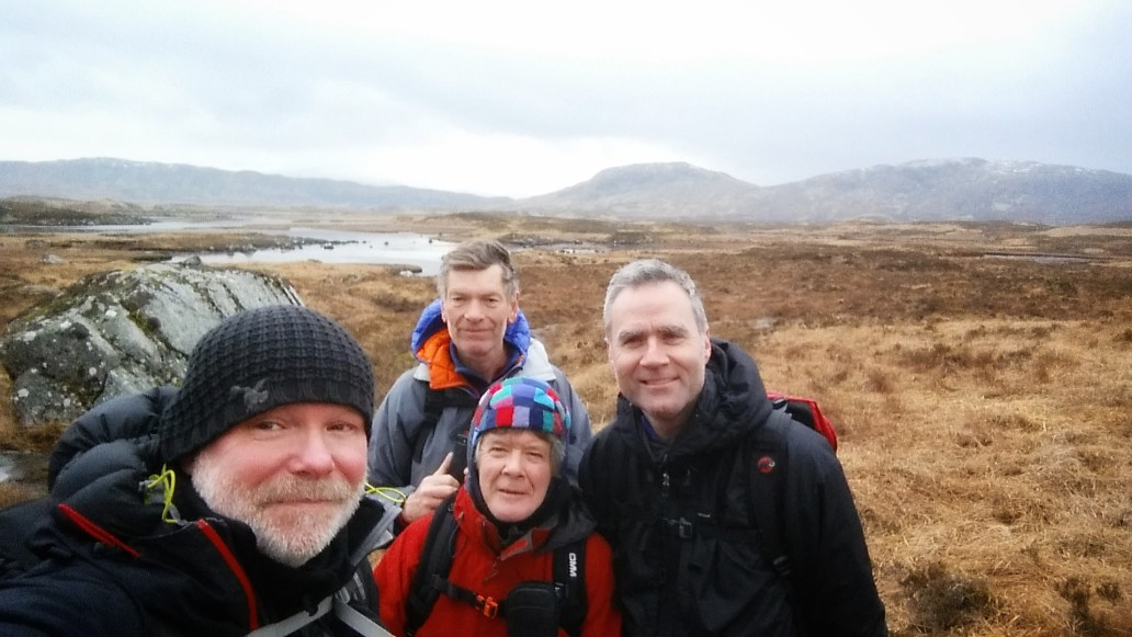 West Highland Way Rannoch Moor walking trip