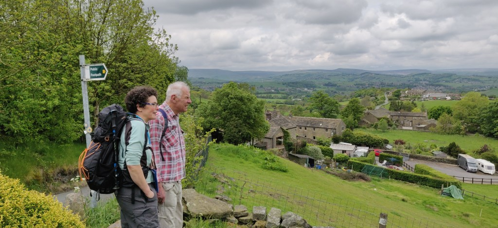 Photo showing part of the Kirklees Way