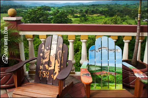 Cigar Safari chairs.