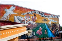 Mural from Cigar Safari.