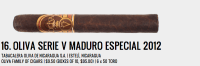 The Serie V Maduro has its lovers, but the general consensus heading into the fifth year of the release was hit or miss. Amongst that was best described as the latter, or at the very least not the former. And yet, despite the fact that the 2012 release is allegedly the same blend as the 2011 release, the reaction was completely different. It was another win for San Andrés and yet another Serie V for the Oliva faithful to use as evidence for the line's brilliance. — CM.