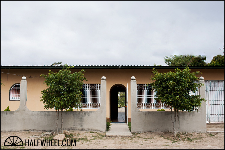 Front of RoMa Craft Tobac's factory in a neighborhood of Estelí, Nicaragua, Fabrica de Tabacos NicaSueño S.A.