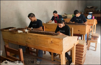 The RoMa Craft factory is small at this time with only two teams working, but extremely efficient.