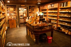 Humidor in the Nat Sherman Townhouse. Previously, the room was used for billiards.