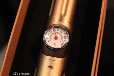 Zico had this single cigar humidifier tube, complete with a hygrometer on the front and humidification unit in the base to make sure that your cigar stays fresh.