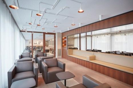 Maison Davidoff Smoker Lounge Cafeteria
