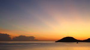 Cuban sunset photo