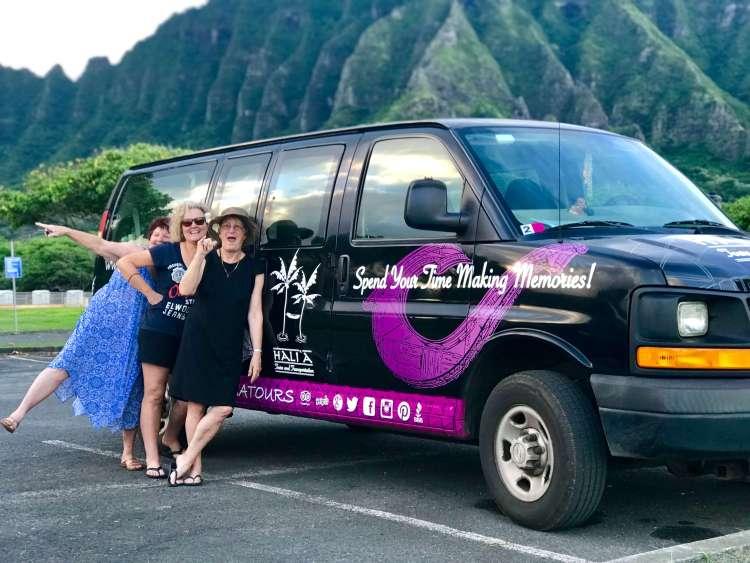 Halia Tours and Transportation on Oahu