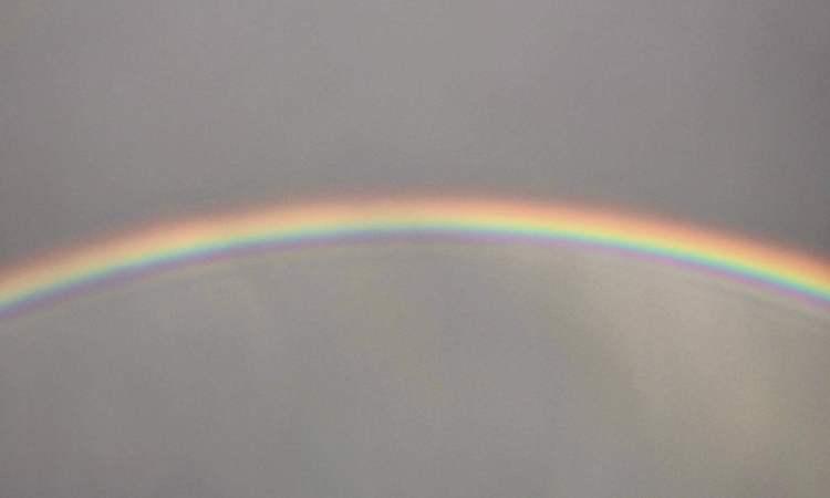 Waikiki Hawaii rainbow