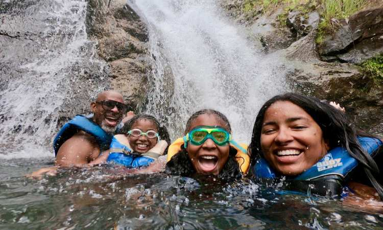 Waimea Waterfall Family Swim