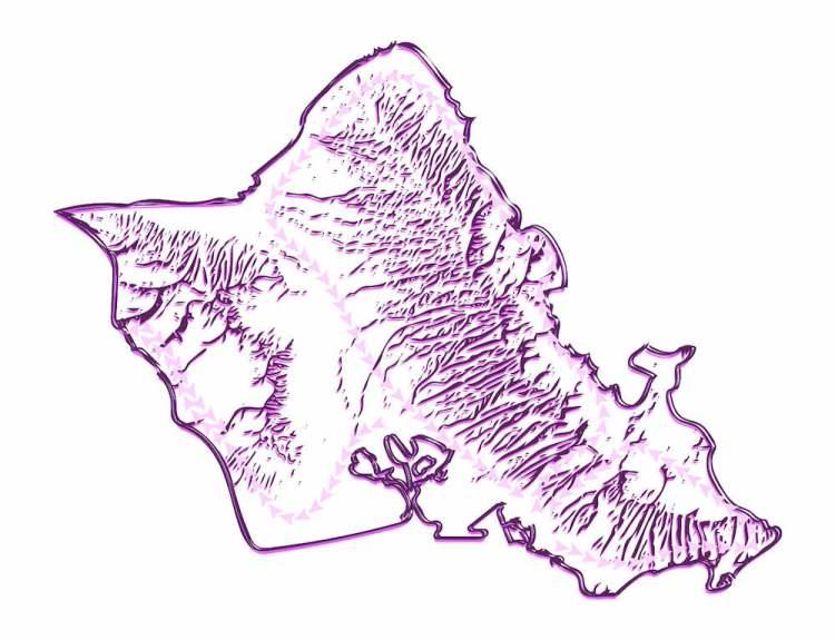Oahu mini island tour map
