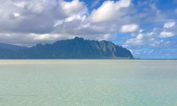 Scenic views of Oahu