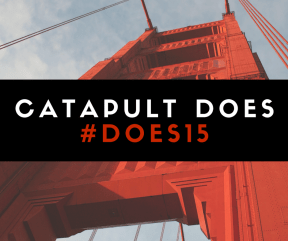 """Images need not be complicated and time consuming to create. This image was created for a blog post explaining how Catapult PR-IR """"does"""" its job so well at the annual DevOps Enterprise Summit (DOES)."""