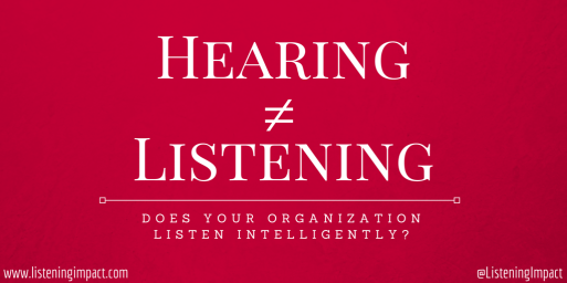 Make your message easy to understand from a glance. This client of Catapult PR-IR's was an organizational health consultancy focused on the art of listening in the workplace.