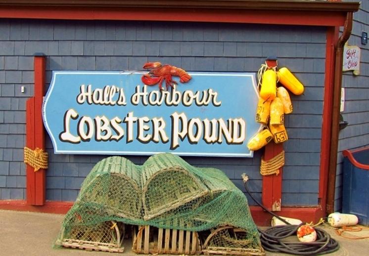 Halls Harbor lobster pound
