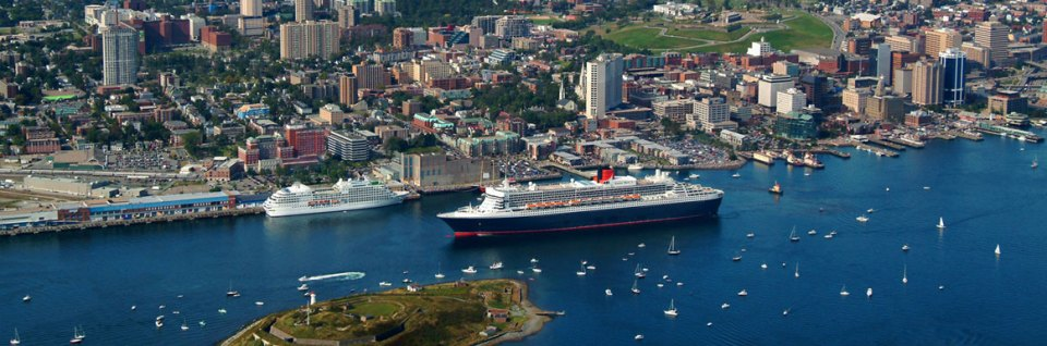 Halifax cruise ship port