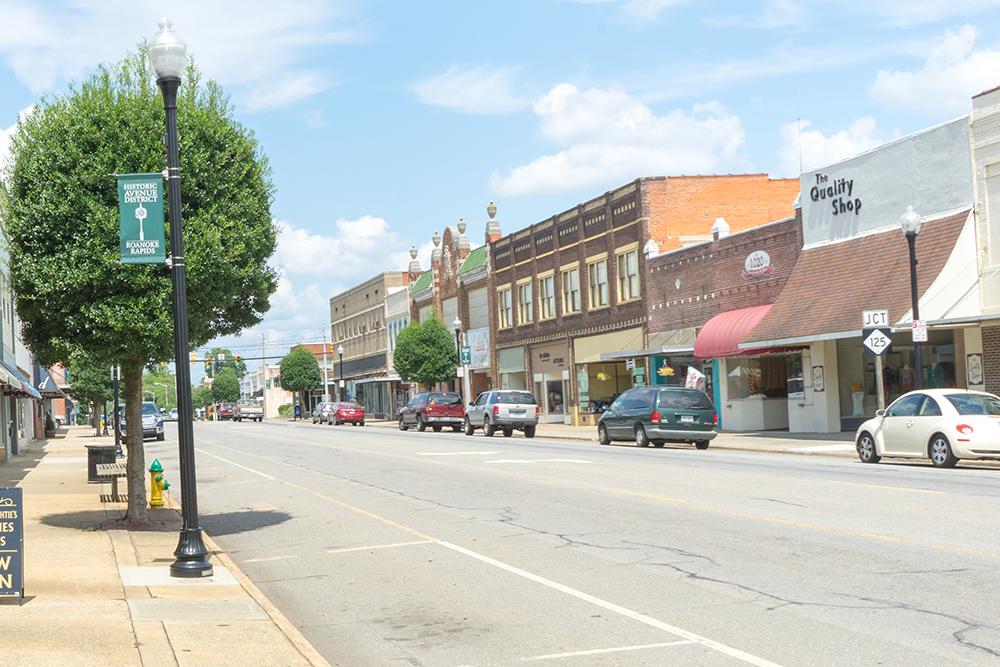 Roanoke Avenue Opportunity Zone