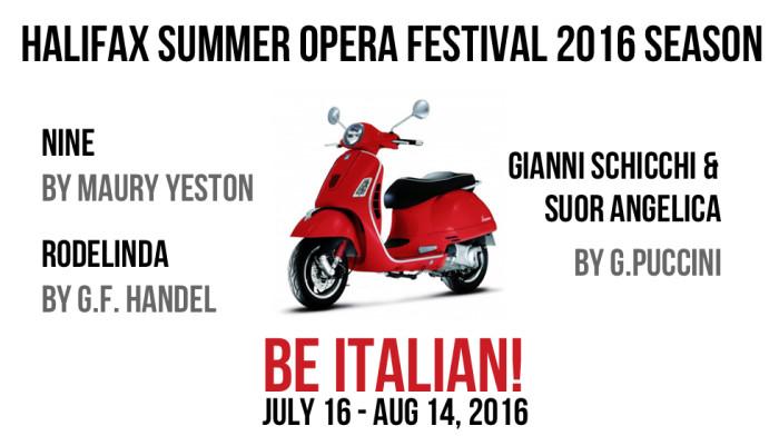 Halifax Summer Opera Festival 12th season announcement!