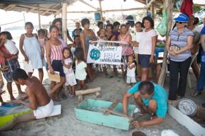 San Agustin community members
