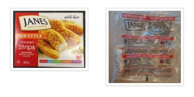 Janes Brand Pub Style Chicken Strips Recalled Due To