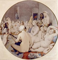 Ingres, J. The Turkish Bath