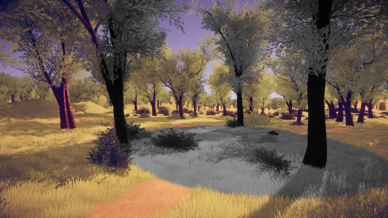 My take on shaders: Spherical mask post-processing effect