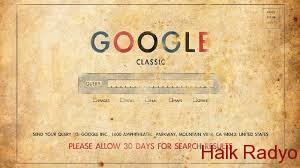 #Google 'ın İlk Hali