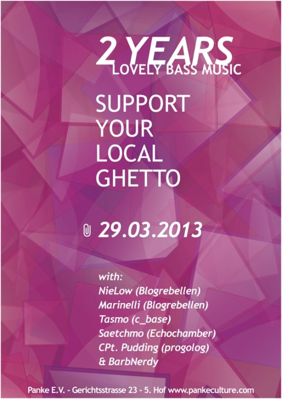 2 Years Support your local Ghetto