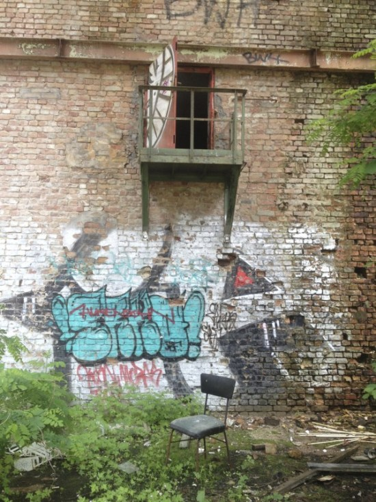 Abandoned building --> Pics by BarbNerdy