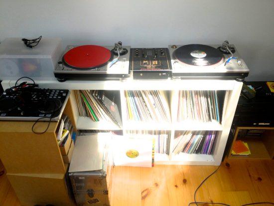 Technics 1200MK2 + Technics Mixer SH-DJ1200