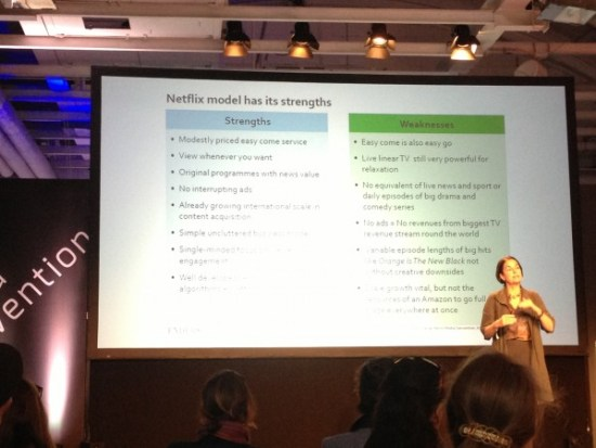 Claire Enderson - Media Convention 2014 Berlin - Netflix