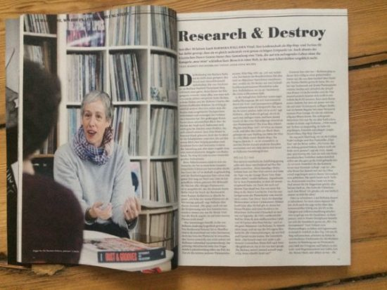 Interview with Barbara Hallama with German Mag MINT
