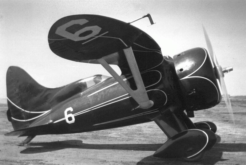 Bulldog Right Side, Final Tail, Original Cowl Exhaust