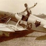 Gee Bee Model D 'Speedster' with pilot Bob Hall