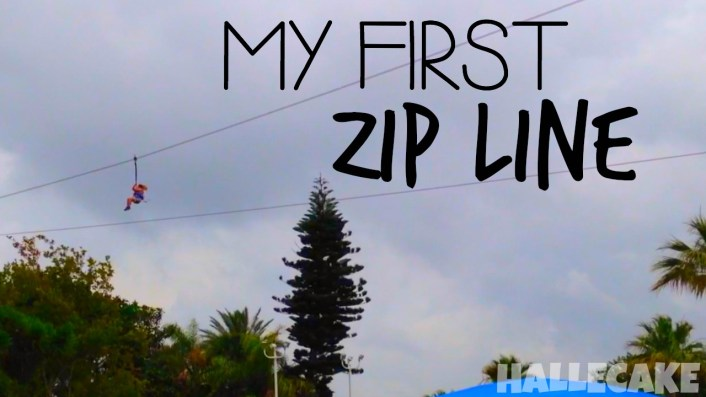 MY FIRST ZIP LINE