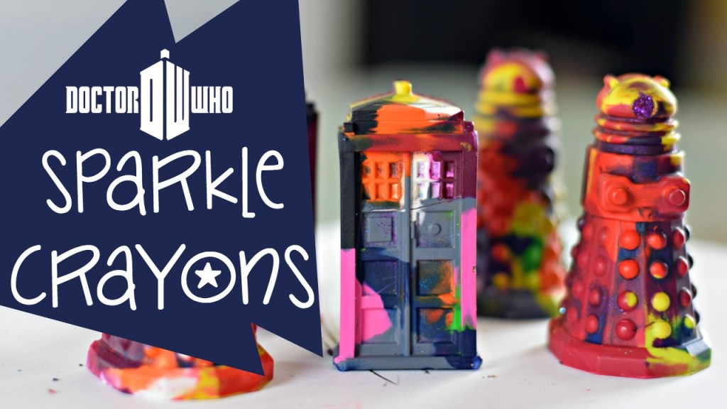 Doctor Who Sparkle Crayons