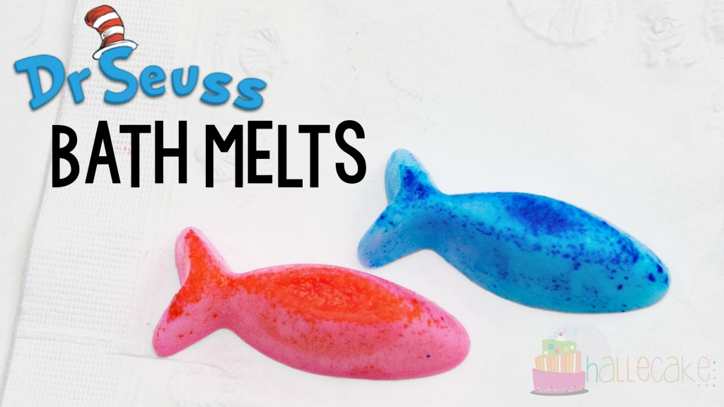 Dr. Seuss One Fish Two Fish Bath Melts
