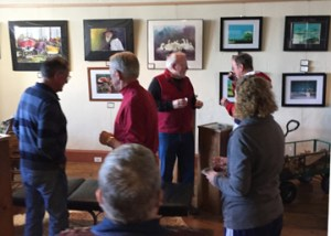 Hallet Oak Gallery's Spotlight on the Arts featuring Steve Beckman, tradional watercolorist.